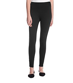 Kensie Ponte Trim Detail Leggings