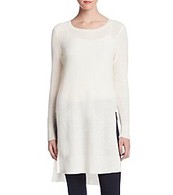 Kensie High Slit Sweater Tunic