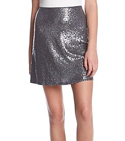 Kensie Sequin Pencil Skirt