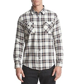 Retrofit Men's Long Sleeve Plaid Button Down Shirt