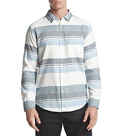 Retrofit Men's Long Sleeve Stripe Button Down Shirt