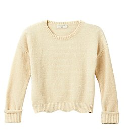 no comment Girls' 7-16 Crop Slouchy Sweater