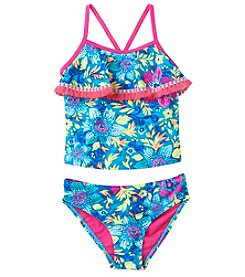 5d260a085fe Breaking Waves Girls' 4-6X Coral Reef Tankini Swimsuit