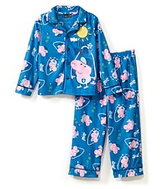 Komar Kids Boys' 2T-4T George Pig Coat Pajamas