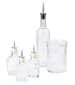 Luigi Bormioli Mixology 5-Piece Glass Barware Set