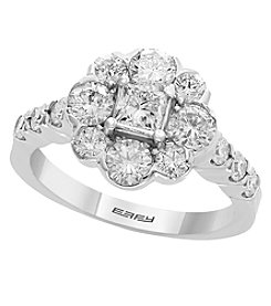 Effy 14K White Gold Diamond Ring