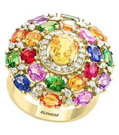 Effy 14K Yellow Gold Gem Ring