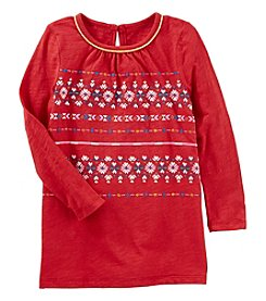 Oshkosh B'Gosh Girls' 4-8 Long Sleeve Tunic