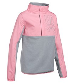 Under Armour Girls' 7-16 Long Sleeve 1/2 Zip Phenom Fleece