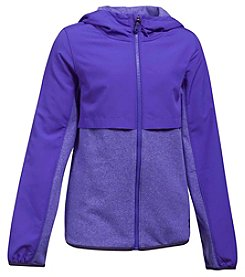 Under Armour Girls' 7-16 Long Sleeve Full Zip Phenom Fleece