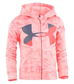 Under Armour Girls' 2T-6X Long Sleeve Multi Streaks Hoodie