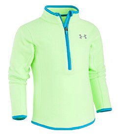 Under Armour Girls' 2T-6X Long Sleeve Solid 1/4 Zip Fleece
