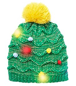 Collection 18 Light Up Christmas Tree Hat