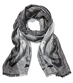 Collection 18 All Over Paisley Scarf