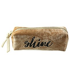 Jade & Deer Shine Rectangular Cosmetic Case