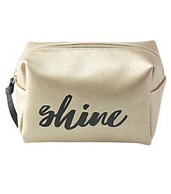 Jade & Deer Shine Cosmetic Loaf Case