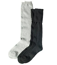 Relativity 2-Pack Knee High Socks