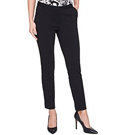 Tommy Hilfiger Straight Leg Ankle Pants