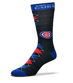 For Bare Feet MLB® Chicago Cubs Men's Fan Nation Crew Socks