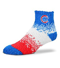 For Bare Feet MLB® Chicago Cubs Men's Soft Sleep Marquee Socks
