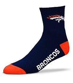 For Bare Feet 903 NFL® Denver Broncos Men's Quarter Socks