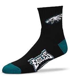 For Bare Feet NFL® Philadelphia Eagles Men's 501 Quarter Length Socks