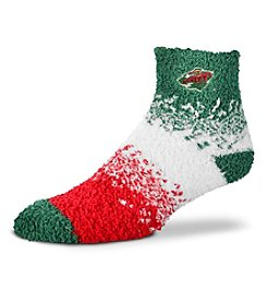For Bare Feet NHL® Minnesota Wild Men's Sleep Socks