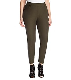 MICHAEL Michael Kors Plus Size Pull On Leggings