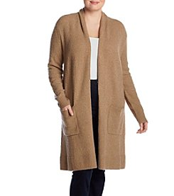 MICHAEL Michael Kors Plus Size Long Hand Pocket Cardigan
