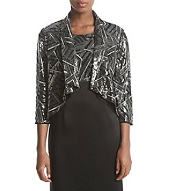 Kasper Sequin Geometric Jacket