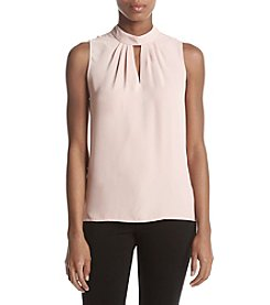 Nine West Mock Choker Blouse