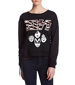 Freeze Kiss Lace Side Pullover