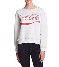 Freeze Coca-Cola Contrast Stitch Sweatshirt