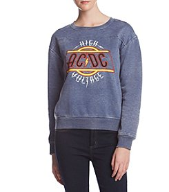 Freeze AC/DC Contrast Stitch Sweatshirt