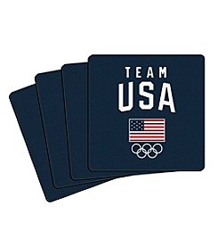 Boelter Brands Team USA Set of Four Coasters