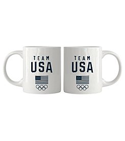 Boelter Brands White Team USA Coffee Mug