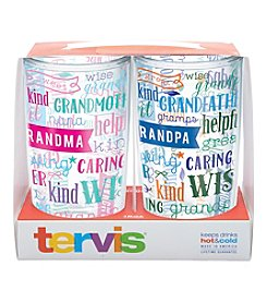 Tervis Set of 2 Grandma and Grandpa 16-oz. Tumblers