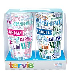 Tervis Set of 2 Grandma and Grandpa 24-oz. Tumblers