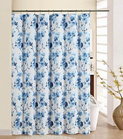 Waverly® Tree Blossom Shower Curtain with Rings