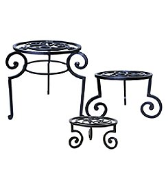The Pomeroy Collection Venice Set of 3 Garden Stools