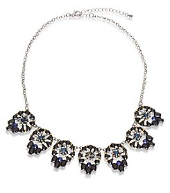 Robert Rose Faux Crystal Statement Necklace