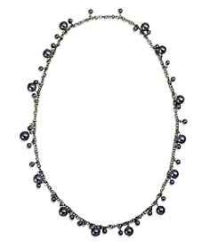 Robert Rose Faux Pearl Strand Necklace
