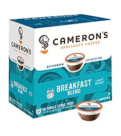 Cameron's Specialty Coffee Breakfast Blend 18-ct. Single Serve Pods