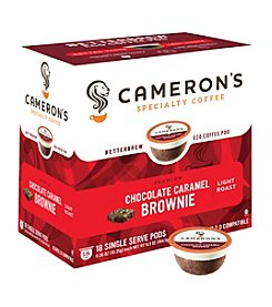 Cameron's Specialty Coffee Chocolate Caramel Brownie 18-ct. Single Serve Pods