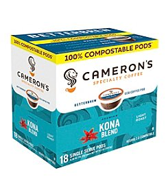 Cameron's Specialty Coffee Kona Blend 18-ct. Single Serve Pods