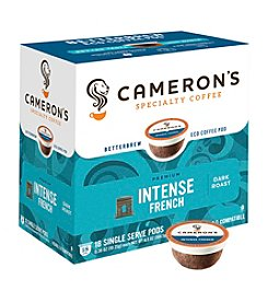 Cameron's Specialty Coffee Intense French 18-ct. Single Serve Pods