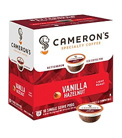 Cameron's Specialty Coffee Vanilla Hazelnut 18-ct. Single Serve Pods