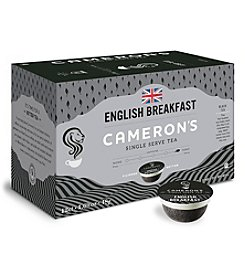 Cameron's Specialty Coffee English Breakfast Tea 12-ct. Single Serve Pods