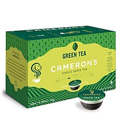 Cameron's Specialty Coffee Green Tea 12-ct. Single Serve Pods