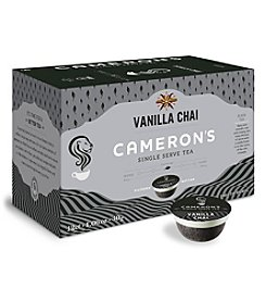 Cameron's Specialty Coffee Vanilla Chai Tea 12-ct. Single Serve Pods